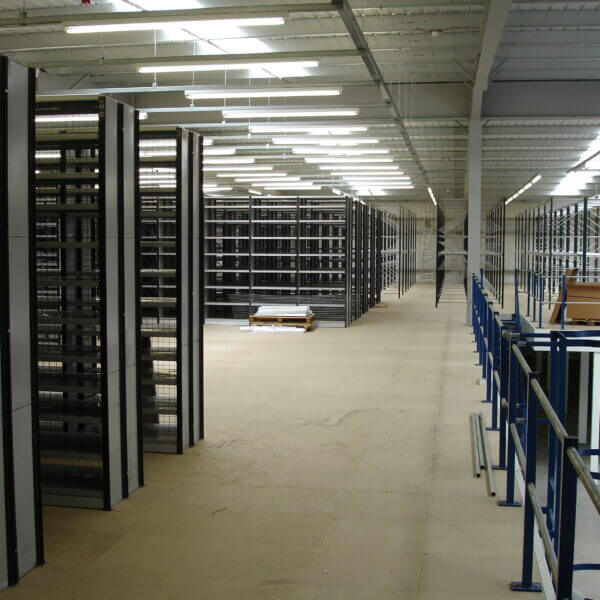Mezzanine Floor with Racking