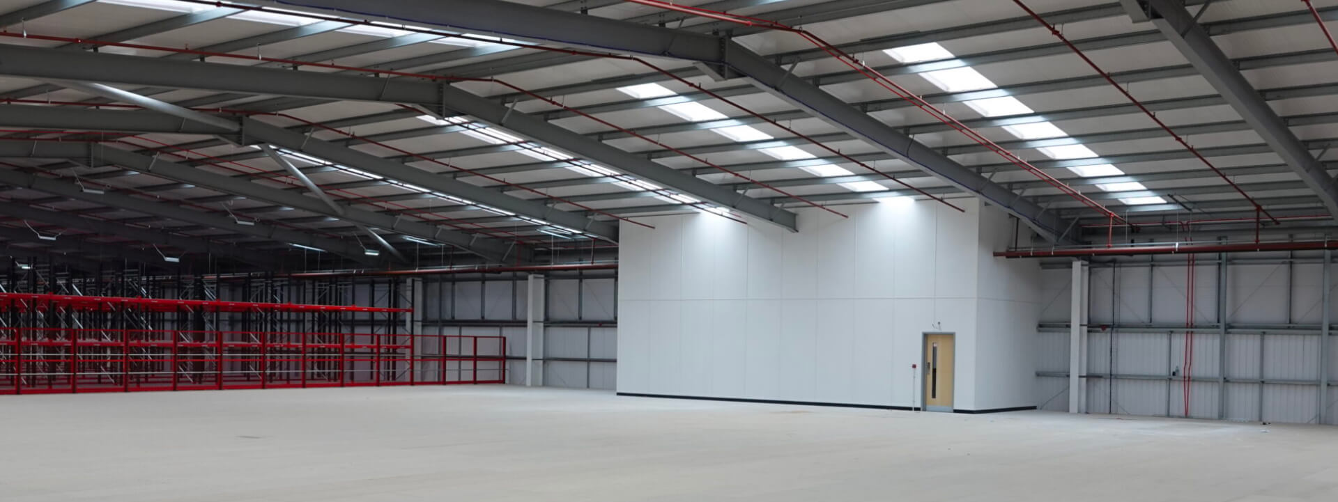 Industrial Partitioning in a warehouse